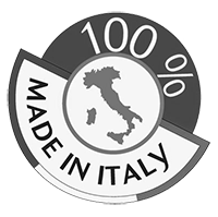 made in italy logo biancoenero